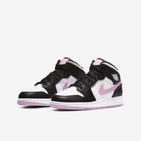 AIR JORDAN 正代系列 Air Jordan 1 中性篮球鞋 555112-103 黑白粉/熊猫 37.5