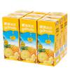 地中海塞浦路斯进口 果满乐乐(gomolo)100%菠萝汁  小瓶装纯果汁饮料   250ml*9盒