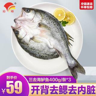 YUFENG 裕峰 白蕉海鲈鱼 400g*3条