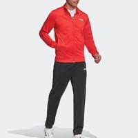 超值黑五、银联返现购:adidas 阿迪达斯 Essentials Basics 男士运动套装 *3件