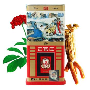 正官庄 人参 韩国六年根高丽参 红参[良字]50支37.5g(韩国原装进口)