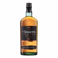 苏格登 Singleton 单一麦芽苏格兰威士忌 英国原装进口 洋酒 正品行货 苏格登格兰欧德18年(无盒) 700ml