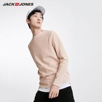 JACK JONES 杰克琼斯 219124518 男士纯棉针织衫