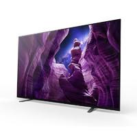 历史低价、百亿补贴:SONY 索尼 KD-55A8H 4K OLED电视 55英寸