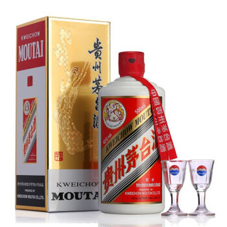 MOUTAI 茅台 酱香型白酒 53度 500ml