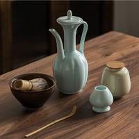 仿宋套装 垚典 宋式点茶茶具6件套礼盒装(含执壶、茶盏) *3件