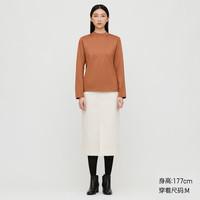 UNIQLO 优衣库 430869 女士高领T恤长袖