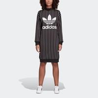 adidas 阿迪达斯 三叶草 DY0877 女士长袖连衣裙 *2件
