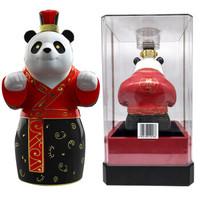 泸州老窖   国窖1573熊猫限量版礼盒52度   1000ML