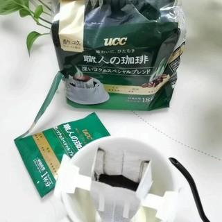 UCC绿职系列挂耳咖啡