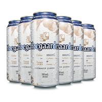 福佳(Hoegaarden) 比利时风味精酿啤酒 福佳白啤酒 310ml*6听