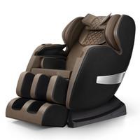 德国佳仁(JARE)按摩椅家用SL太空曲轨4D机械手豪华太空舱零重力多功能全身按摩椅 尊享黑+腰部热敷+足底三段式按摩