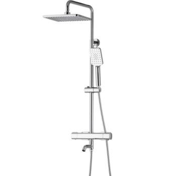 ARROW 箭牌卫浴 AE3363SH 方形浴室恒温花洒套装