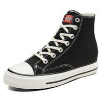 Dickies 193W50LXS25G-BGE 女士高帮内增高帆布鞋