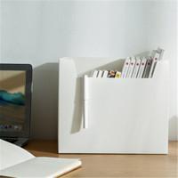 桫椤 仿皮pp塑料多功能A4收纳盒 2个装 多色可选
