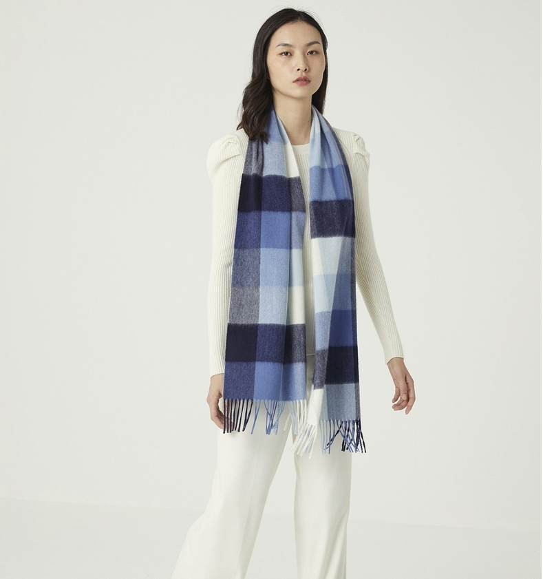 ERDOS 鄂尔多斯 D506W1001 羊绒围巾