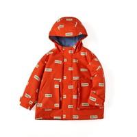 Balabala 巴拉巴拉 儿童冲锋衣加绒保暖外套