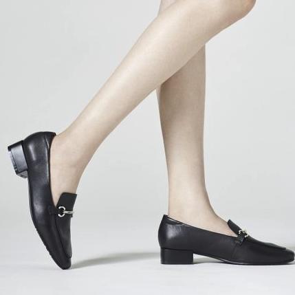 Bata 拔佳 A6035CM9 羊皮革女皮鞋