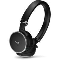 AKG 爱科技 N60NC 压耳式头戴式主动降噪 蓝牙耳机 黑色