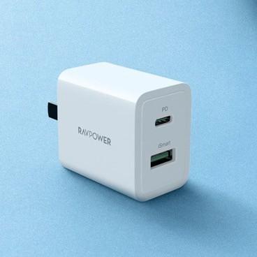 Ravpower 睿能宝 18W 双口充电器 1C1A