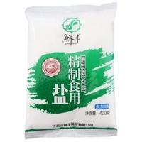 鲜丰  未加碘食用盐 400g*10袋