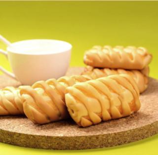 PANPAN FOODS 盼盼 小卷包 面包 凤梨味 1.05kg