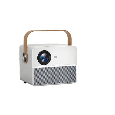 微影 M8新款手机投影仪家用智能4K全高清智能投影电视小型办公1080PWiFi家庭影院 微影M8(待机蓝牙音箱,侧投,AI语音,办公家用)