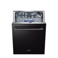 SIEMENS 西门子 SJ636X02JC 13套 全嵌入式洗碗机