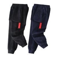 西努克 儿童仿兔毛绒运动长裤 110-150cm