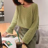 Tonlion 唐狮 62542FC0043457573 女士花纹毛衣
