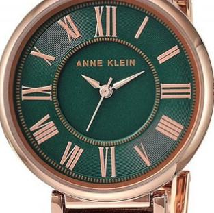 ANNE KLEIN 安妮·克莱因 摩登复古系列 女士石英手表