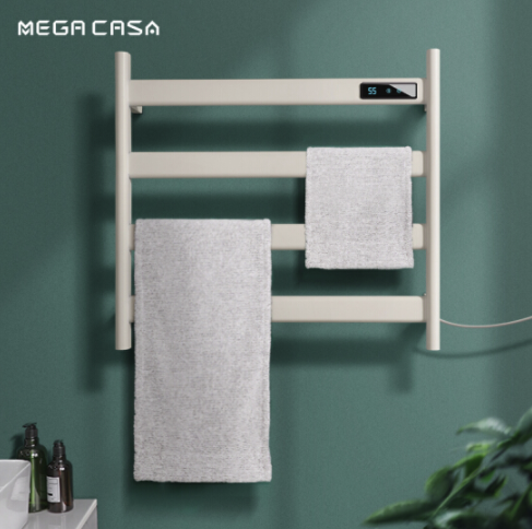 Mega Casa E40-2 智能电热毛巾架 哑白