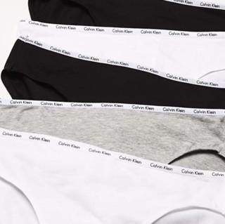 Calvin Klein 卡尔文·克莱 女士棉质弹力徽标三角内裤套装QD3713