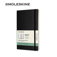 MOLESKINE 2020-2021年18个月经典软面大型周记本黑色