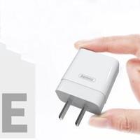 Remax苹果18W快充套装PD充电器头闪充XSMax手机iphone12pro平板20w插头双口 1.0A单U口-白 *4件