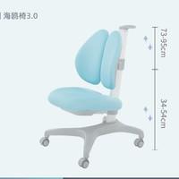 聚划算百亿补贴:igrow 爱果乐 海鸥椅3.0  儿童学习椅