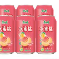 康师傅 水蜜桃味 310ml*6罐装