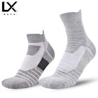 领先半步 1813 男士篮球袜子 均码 1双装