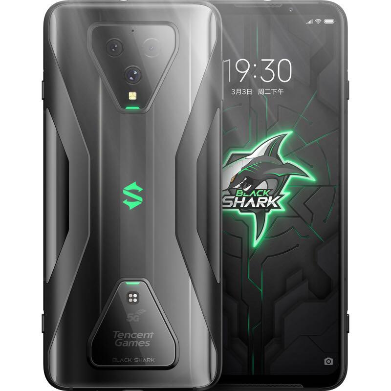 BLACK SHARK 黑鲨 腾讯黑鲨游戏手机3 8GB+128GB