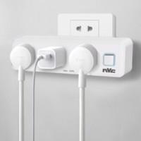 nvc-lighting 雷士照明 三位总控开关转换插座