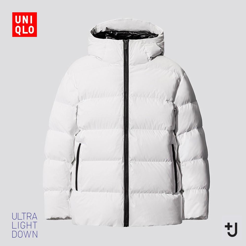 UNIQLO 优衣库 432645 男装 +J高级轻型羽绒连帽外套