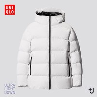 UNIQLO 优衣库 432645 男装 +J高级轻型羽绒蓬松连帽外套
