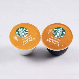 STARBUCKS 星巴克 多趣酷思 焦糖玛奇朵胶囊咖啡 128g*24粒