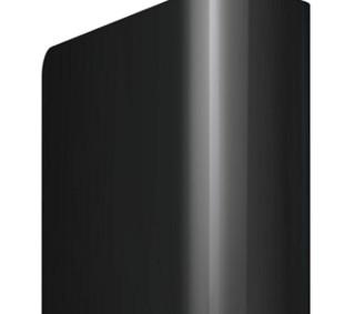 Western Digital 西部数据 Elements WDBWLG0100HBK-NESN USB3.0 移动硬盘 10TB 黑色