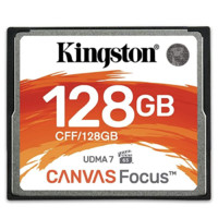 Kingston 金士顿 Canvas Focus CF存储卡 128GB
