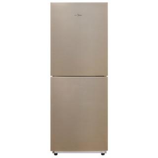 Midea 美的 BCD-166WM 风冷双门冰箱 166L 爵士棕