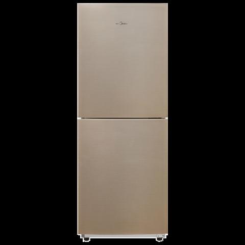 Midea 美的 臻润系列 BCD-166WM 定频双门冰箱 166L 爵士棕