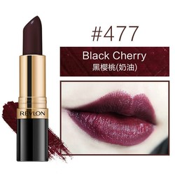 REVLON 露华浓 丽彩炫亮黑管口红 4.2g #477 black cherry