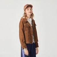 Semir 森马 13D068080025 女款连帽韩版工装外套