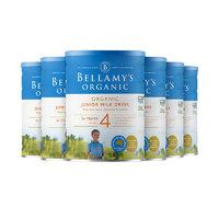 BELLAMY'S 贝拉米 儿童有机奶粉 4段 900g*6罐(3岁以上)